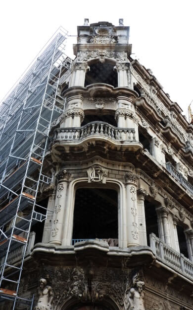 Heritage Building Restoration Work