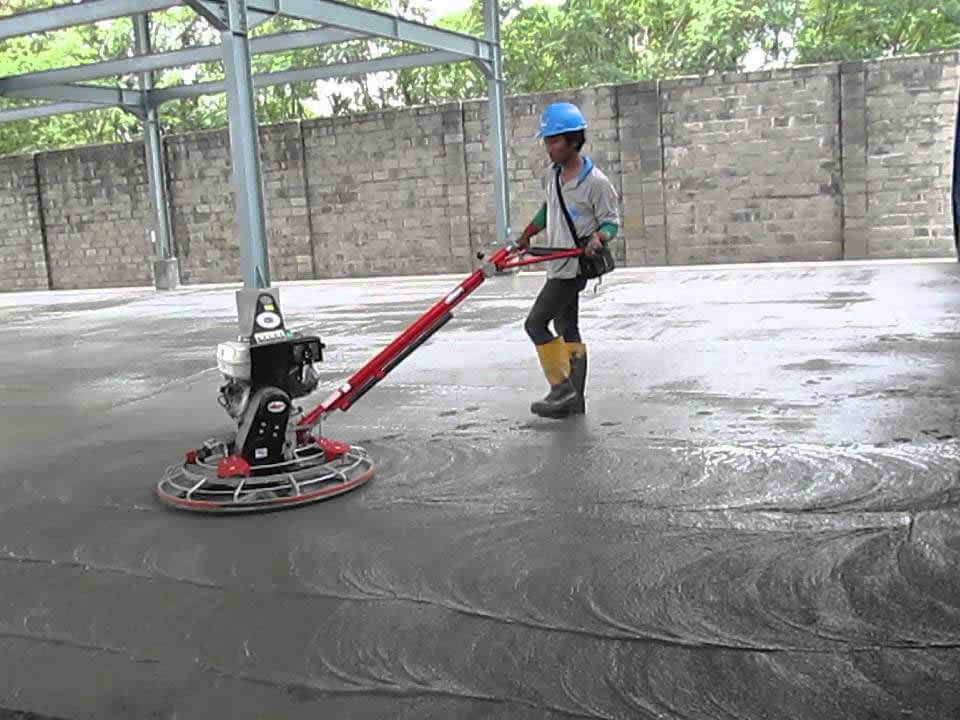 Concrete Power Floats & Trowel